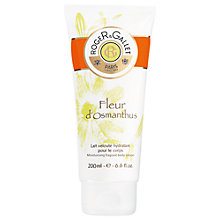 Buy Roger & Gallet Fleur d'Osmanthus Body Lotion, 200ml Online at johnlewis.com