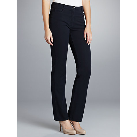 Buy Betty Barclay Straight Leg Jeans, Night Blue Online at johnlewis.com