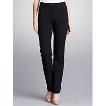 Buy Betty Barclay Straight Leg Jeans, Black Online at johnlewis.com
