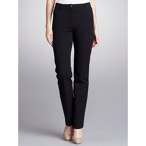 Buy Betty Barclay Perfect Body Bi Stretch Jean, Black Online at johnlewis.com