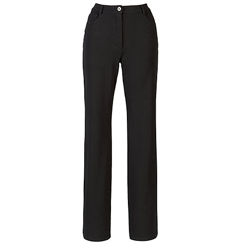 Buy Betty Barclay Perfect Body Bi Stretch Trouser, Black Online at johnlewis.com