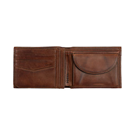 Buy Fossil Carson Traveller Leather Wallet Online at johnlewis.com