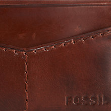 Buy Fossil Portage Card Holder Online at johnlewis.com