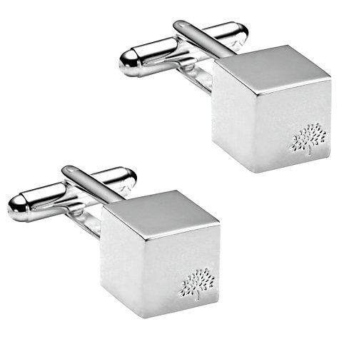 Buy Mulberry Cube Cufflinks Online at johnlewis.com