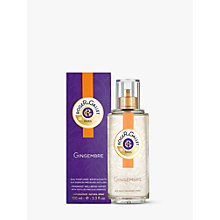 Buy Roger & Gallet Ginger Fresh Fragrant Water Spray, 100ml Online at johnlewis.com