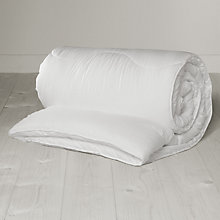 Buy John Lewis Peach-soft Washable Duvet, 13.5 Tog Online at johnlewis.com