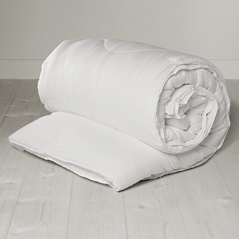 Buy John Lewis New Soft Touch Washable Duvet, 13.5 Tog (9 + 4.5 Tog) All Seasons Online at johnlewis.com
