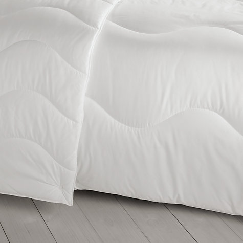 Buy John Lewis Soft Touch Washable Duvet, 13.5 Tog (9 + 4.5 Tog) All Seasons Online at johnlewis.com