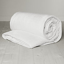 Buy John Lewis Microfibre Anti Allergy Duvet, 13.5 Tog (9 + 4.5 Tog), All Seasons Online at johnlewis.com