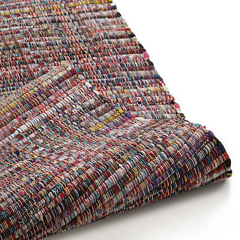 Buy John Lewis The Basics Colourburst Rug, Multi Online at johnlewis.com
