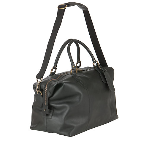 Buy Barbour Leather Travel Holdall Online at johnlewis.com