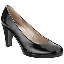 Buy Gabor Soria Patent Court Shoes Online at johnlewis.com