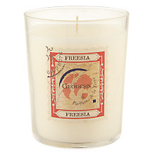 Buy Geodesis Scented Candle in a Jar, Freesia Online at johnlewis.com