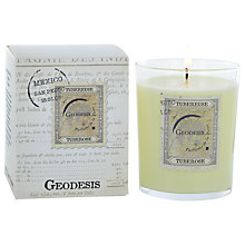 Buy Geodesis Scented Candle in a Jar, Tuberose Online at johnlewis.com
