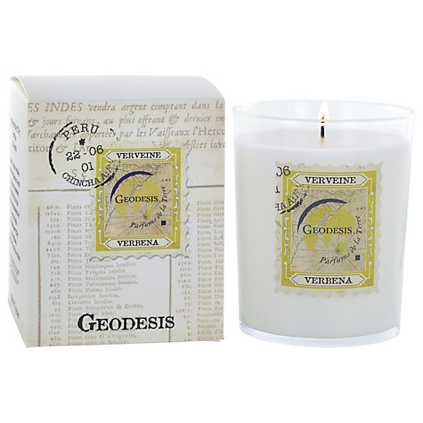 Buy Geodesis Candle in a Jar, Verbena Online at johnlewis.com
