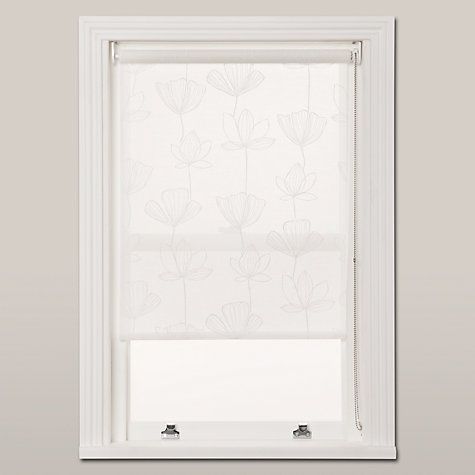 Buy John Lewis Gingko Printed Sheer Roller Blind Online at johnlewis.com