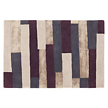 Buy John Lewis Urban Cassis Rug, Steel Online at johnlewis.com