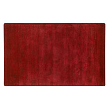 Buy John Lewis Stirling Rug, Red Online at johnlewis.com