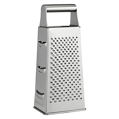 Buy John Lewis Stainless Steel Box Grater Online at johnlewis.com