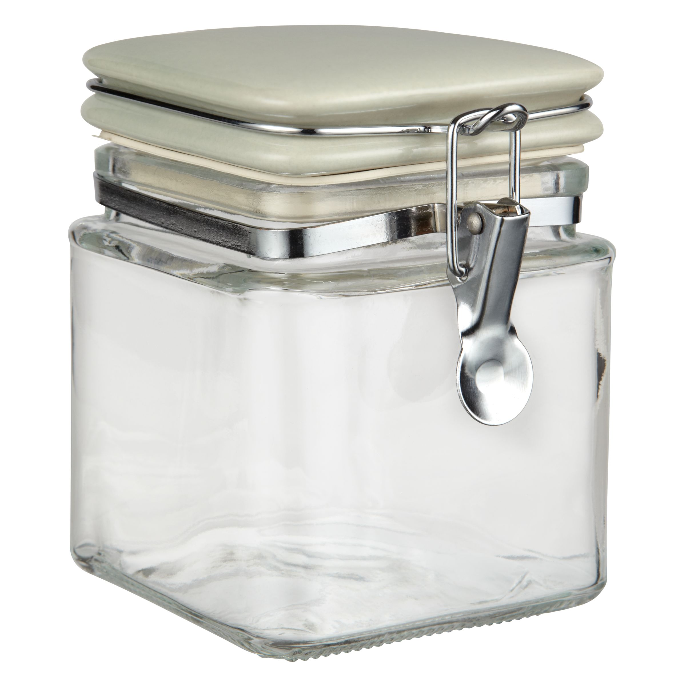 Garden Trading Square Glass Storage Jars