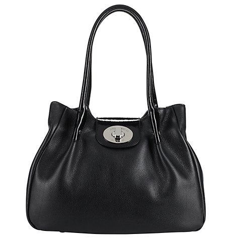 Buy Lulu Guinness Romilly Large Leather Shoulder Handbag Online at johnlewis.com