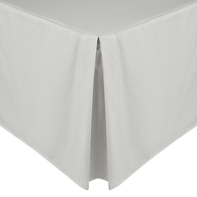 John Lewis Perfectly Smooth 200 Thread Count Egyptian Cotton Centre Pleat Valance