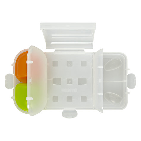 Buy Nude Food Movers Rubbish Free Lunch Box and Skin, Black/Green Online at johnlewis.com