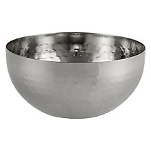 Buy John Lewis Hammered Bowl Online at johnlewis.com