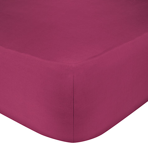 Buy John Lewis Value Combed Polycotton Fitted Sheets Online at johnlewis.com