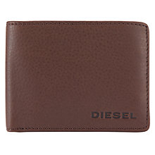 Buy Diesel Hiresh XS Wallet, Brown Online at johnlewis.com