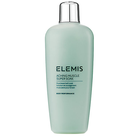 Buy Elemis Aching Muscle Super Soak, 400ml Online at johnlewis.com
