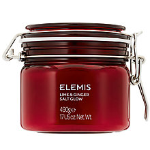 Buy Elemis Lime and Ginger Salt Glow, 410g Online at johnlewis.com
