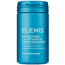 Buy Elemis Invigorating Cal-Metab Plus, 60 Capsules Online at johnlewis.com