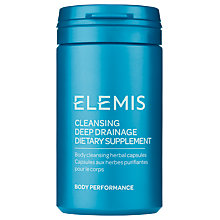 Buy Elemis Cleansing Deep Drainage, 60 Capsules Online at johnlewis.com