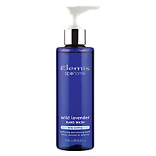 Buy Elemis Wild Lavender Hand Wash, 195ml Online at johnlewis.com