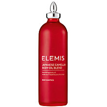 Buy Elemis Japanese Camellia Oil Body Oil Blend, 100ml Online at johnlewis.com