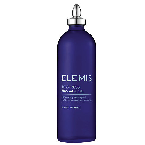 Buy Elemis De-Stress Massage Oil, 100ml Online at johnlewis.com
