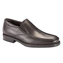 Buy Geox Londra Leather Slip On Shoes Online at johnlewis.com