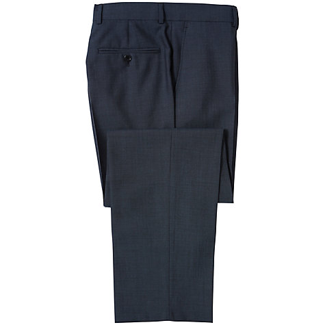 Buy Chester by Chester Barrie Wool Cashmere Suit Trousers, Navy Online at johnlewis.com