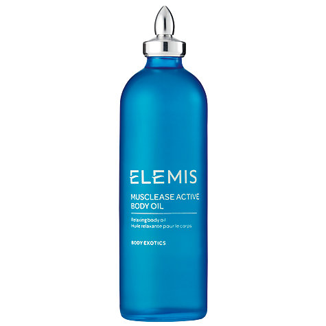 Buy Elemis Musclease Active Body Oil, 100ml Online at johnlewis.com