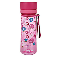 Buy Aladdin AVEO Kids Water Bottle, Pink Online at johnlewis.com