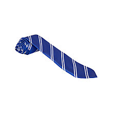 Buy Whitehill Secondary School Unisex Junior School Tie, Royal Blue/White Online at johnlewis.com