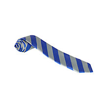 Buy St Andrews RC Primary School Unisex School Tie, Grey/Royal Blue Online at johnlewis.com