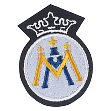 Buy St Margaret Mary's Secondary School Unisex Small School Badge, Multi Online at johnlewis.com