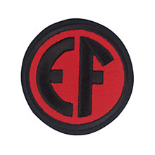 Buy East Fulton Primary School Unisex Blazer Badge, Red/Black Online at johnlewis.com