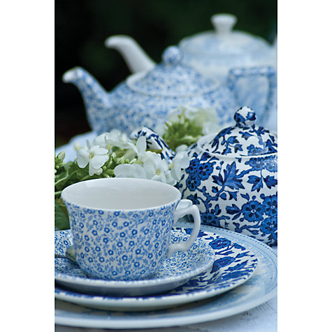 Buy Burleigh Felicity Plates, Blue Online at johnlewis.com