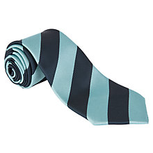 Buy Lairdsland Primary School Unisex Tie, Navy/Aqua Online at johnlewis.com