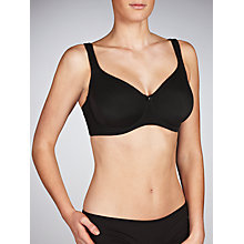Buy John Lewis Janie Full Cup Bra, Black Online at johnlewis.com
