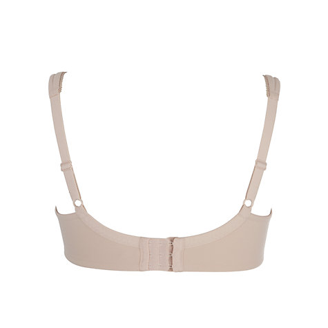 Buy John Lewis Janie Full Cup Bra, Nude Online at johnlewis.com
