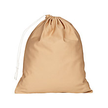 Buy School Shoe Bag, Beige Online at johnlewis.com
